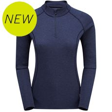Women's Dart Zip-Neck