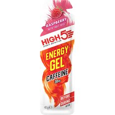Energy Gel Caffeine 40g (Raspberry)