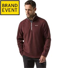 Men's Corey V Half Zip Fleece