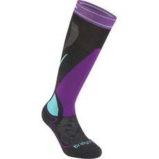 Women's Ski Midweight Merino Endurance Over Calf Socks