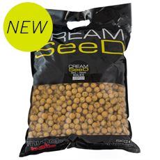Cream Seed 14mm Boilies 5k shelf life