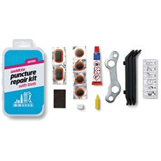 Puncture Cure Kit (includes Spanner and Tyre Levers)