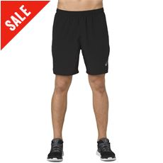 Men's Silver 7in 2-in-1 Short