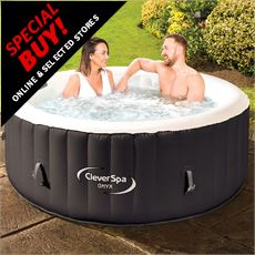Onyx Inflatable 4-Person Hot Tub