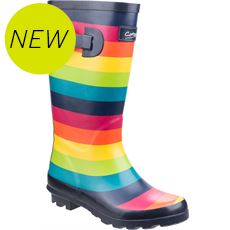 Kids' Rainbow Wellies
