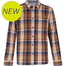 Men's Matanic Long Sleeve Herringbone Check Shirt