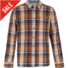 c98dcc7e9ca83d Weird Fish Men s Matanic Long Sleeve Herringbone Check Shirt