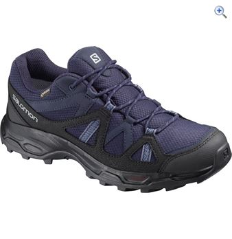 Salomon Women's Rhossili GTX Walking Shoes – Size: 8.5 – Colour: EVENING BLUE