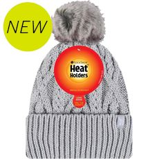Ladies' Heatweaver Solna Turn Over Pom Pom Hat
