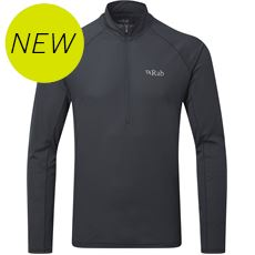 Men's Pulse LS Zip Baselayer Top