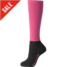 Women's Over the Calf Peddies Boot Socks (Solid)