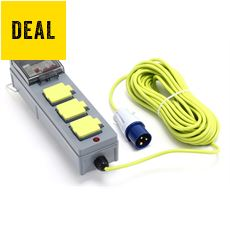 3-Way Mobile Mains Kit (15m Cable)