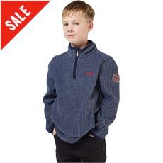 Children's Torey Grid Fleece