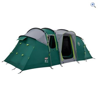 Coleman MacKenzie 6 BlackOut Tent - Colour: MID GREEN