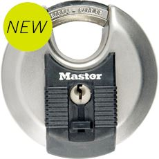Excell Discus 70mm Padlock (10mm octagonal shackle, 4 pin cylinder)