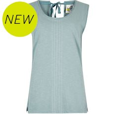 Women's Berti Slub Cotton Vest
