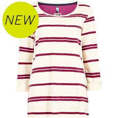 Women's Chrissy Striped Cotton T-Shirt