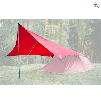 OEX Expedition Tarp - Colour: Red
