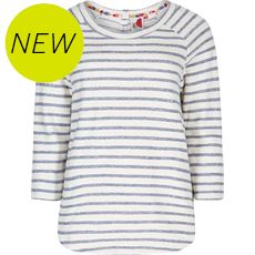 Women's Roxie Striped Crew Neck Top