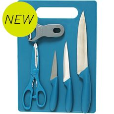 6-Piece Chopping Board / Knife Set