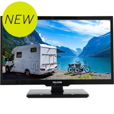 "19"" HD Travel TV with DVD, Freeview, Freesat, USB, and Bluetooth"
