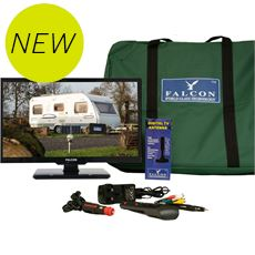 "TV Plus Bluetooth Pack – 22"" LED TV, 12V & Mains with Magnetic Mount Freeview Antenna"