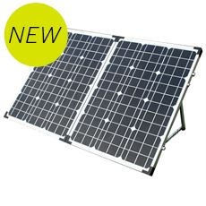 100W 12V Folding Solar Panel for Caravan or Motorhome (with Digital Display)