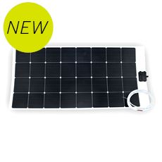 100W Flexible ETFE Solar Panel for Motorhome, Caravan or Boat (including installation)