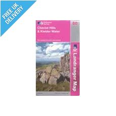 Landranger 103 Blackburn and Burnley Map Book